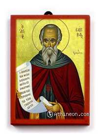 Saint Sabbas the...