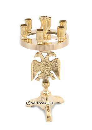 Candle stand brass
